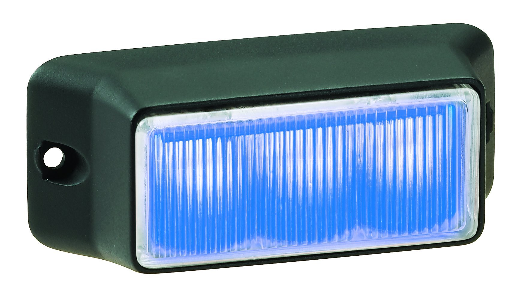 Federal Signal IPX300-3 IMPAXX LED Exterior/Perimeter Light, Blue LEDs, Clear Lens