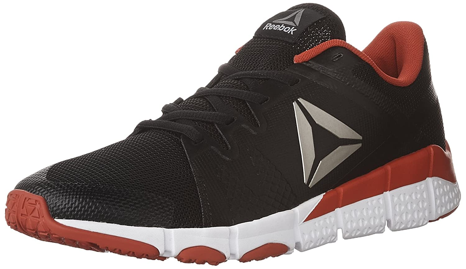 Reebok Men's Trainflex Cross-Trainer Shoe B01M5B5NOK 8.5 D(M) US|Black/White/Primal Red/Pewter/Grey