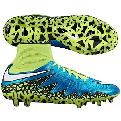 ae17cdf38 Amazon.com  Nike Womens Hypervenom Phantom II FG Firm Ground Soccer Cleats  7 1 2 US