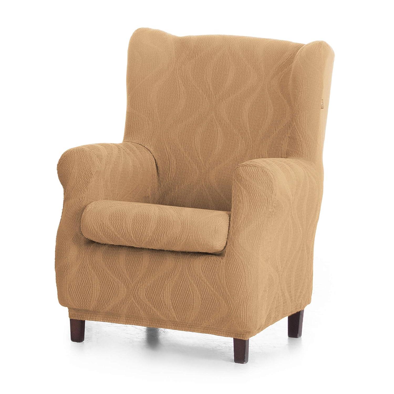JM Stretch Wing Chair Cover Duplex Angus colour: 00 Standard 70-90cm