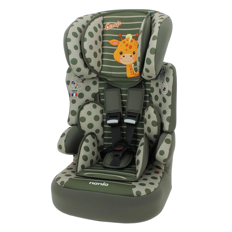 Sitzerhöhung mit Geschirr - gruppen 1/2/3 - BELINE - 4 farben - Girafe Mycarsit 298680