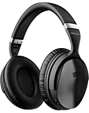 Mpow H5 [Upgrade] Headphones, Superior Deep Bass Bluetooth Headphones, 30Hrs Playtime (ANC) Wireless Headphones, Soft Protein Earpads