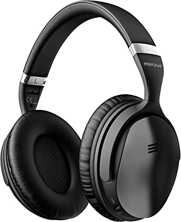 Amazon Com Mpow H5 Active Noise Cancelling Headphones Superior Deep Bass Bluetooth Headphones Over Ear 30hrs Playtime Anc Wireless Headphones With Mic Soft Protein Earpads For Tv Pc Cellphone Travel Work Electronics