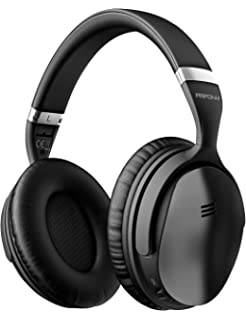 012690329d1 Mpow H5 Active Noise Cancelling Headphones, Superior Deep Bass Bluetooth  Headphones Over Ear, 30Hrs