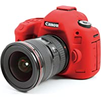 EasyCover Canon EOS 5D MK3 with LCD Protect Film Camera Case (Red)
