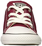 Converse Girls' Chuck Taylor All Star 2018 Seasonal Low Top Sneaker, Maroon, 13 M US Little Kid