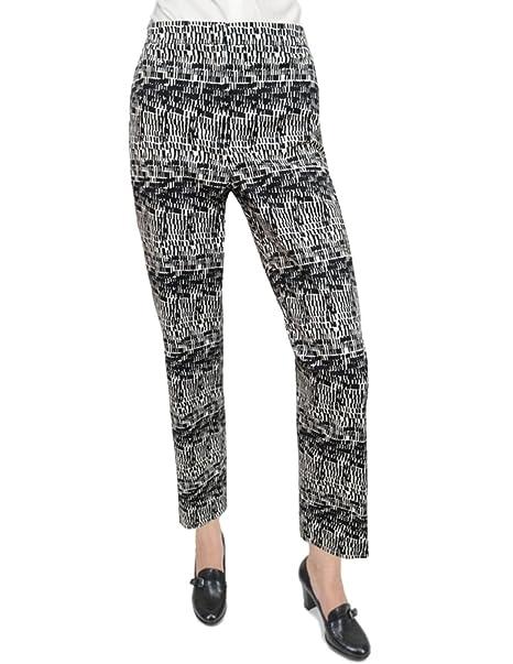 33151af289 DKNY Donna Karan New York Geometric Crop Pants