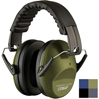 Proteccion Auditiva Cascos Ruido Protectores Auditivos - Orejeras Antiruido Army Green