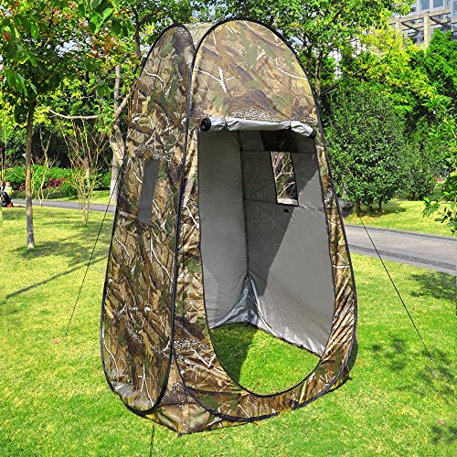 AW 77x42x42 Portable Outdoor Changing Room Beach Toilet Pop Up Tent Privacy Shelter w/Stake Bag Outdoor