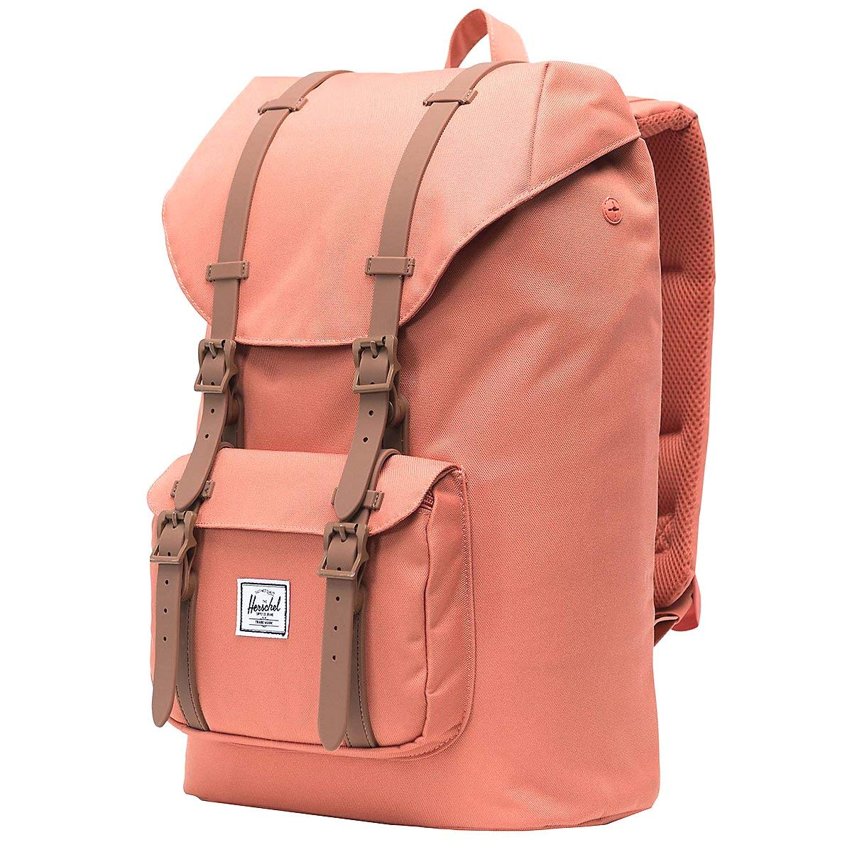 Herschel Little America Mid-Volume Backpack Apricot Brandy/Saddle Brown One Size