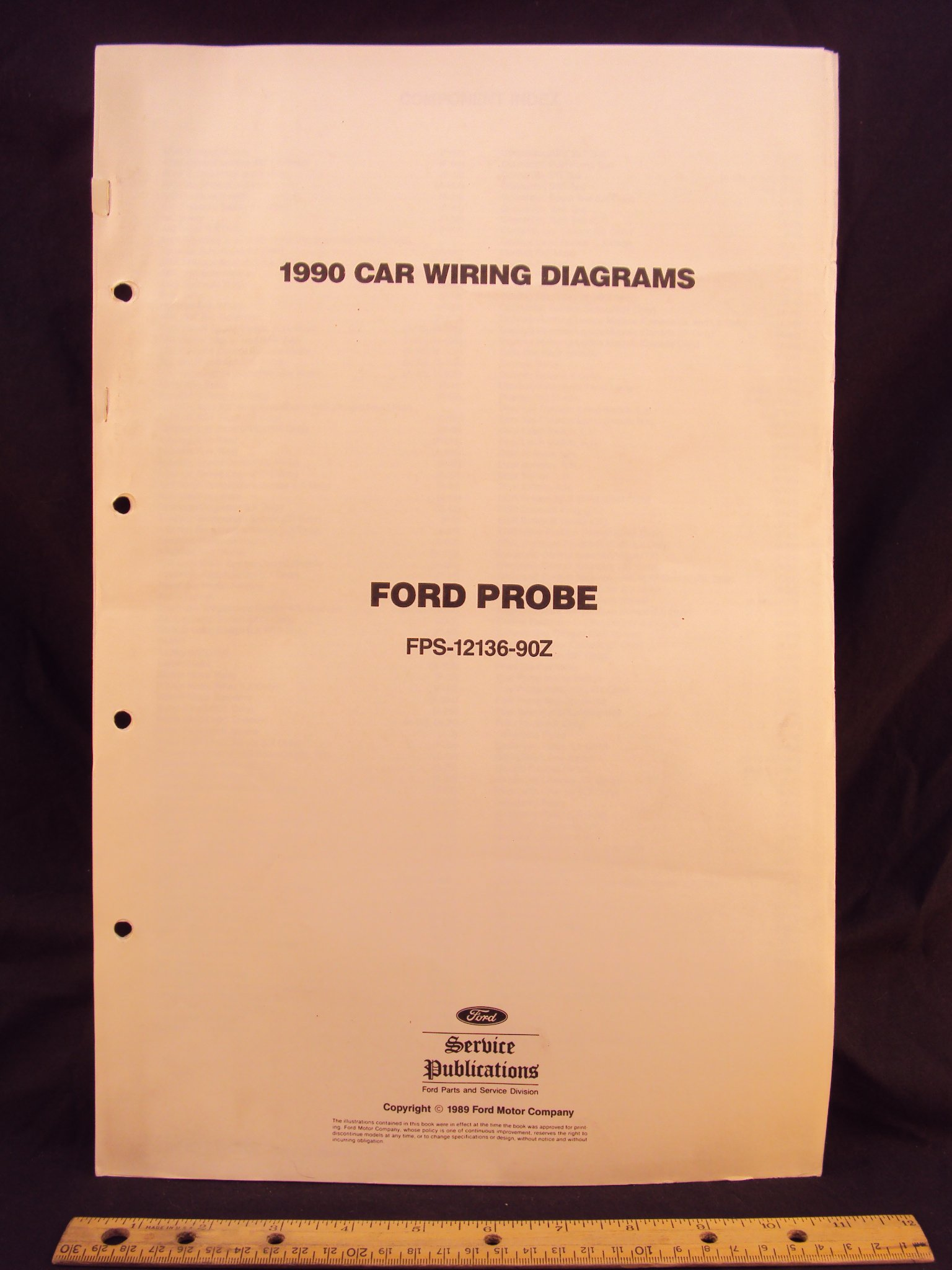 1990 FORD Probe Electrical Wiring Diagrams / Schematics ...  Ford Probe Wiring Diagram on 89 ford transfer case, 89 ford clutch diagrams, 89 ford electrical schematics, 89 ford f350 powerstroke, 89 ford engine,