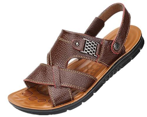 Bebete5858 - Sandalias de vestir de Material Sintético para hombre: Amazon.es: Zapatos y complementos