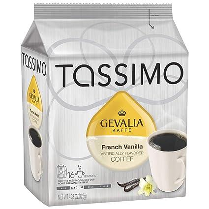 Tassimo Gevalia French Vanilla Coffee T Discos (16 unidades ...