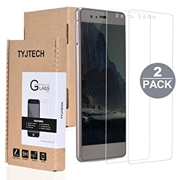 2-Pack] Huawei P9 Lite Protector de Pantalla, TYJTECH Film ...