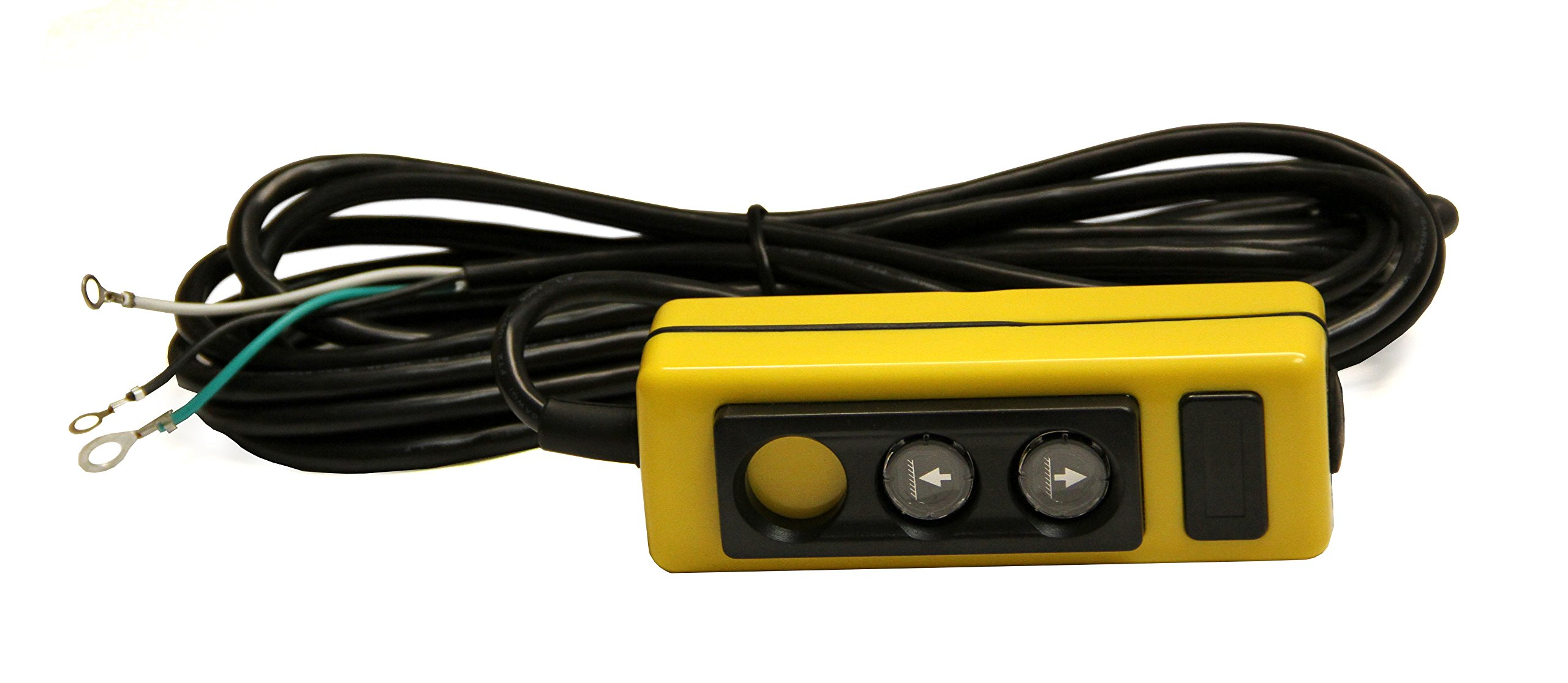 MAXIM HPU Remote: Single Acting, 2-Button (raise & lower), 20 ft Cord, 3 Wire, Magnet Included, 251153