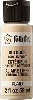 product image for FolkArt Outdoor Acrylic Paint in Assorted Colors (2 Ounce), 1620 Linen