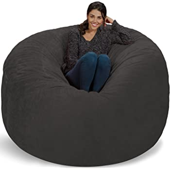 Amazon Com Chill Sack Bean Bag Chair Giant 8 Memory