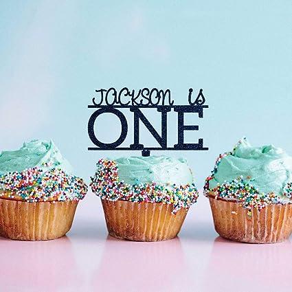 Decoración para cupcakes de primer cumpleaños para bebé ...