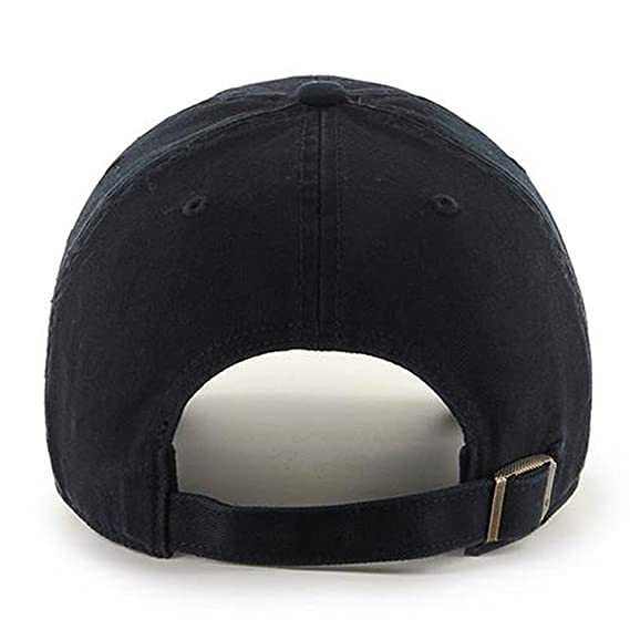 cf0977e9787  47 Brand Toronto Blue Jays Clean Up MLB Dad Hat Cap Black Black  Amazon.ca   Clothing   Accessories