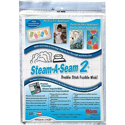 Amazon.com: Warm Company Steam-A-Seam 2 Double Stick Fusible ...