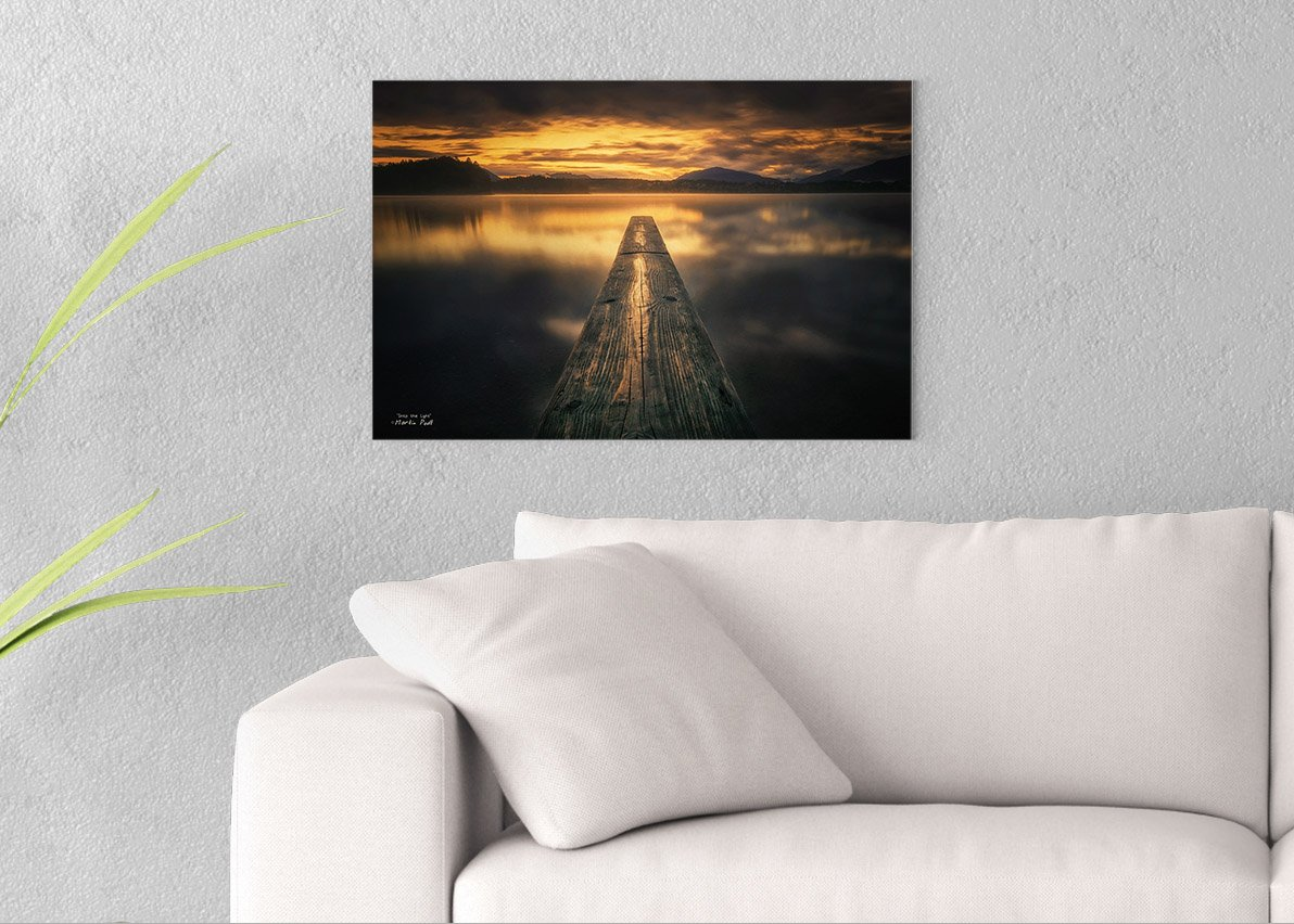 Into the Light Printed on 24x16 Canvas Wall Art by Pennylane