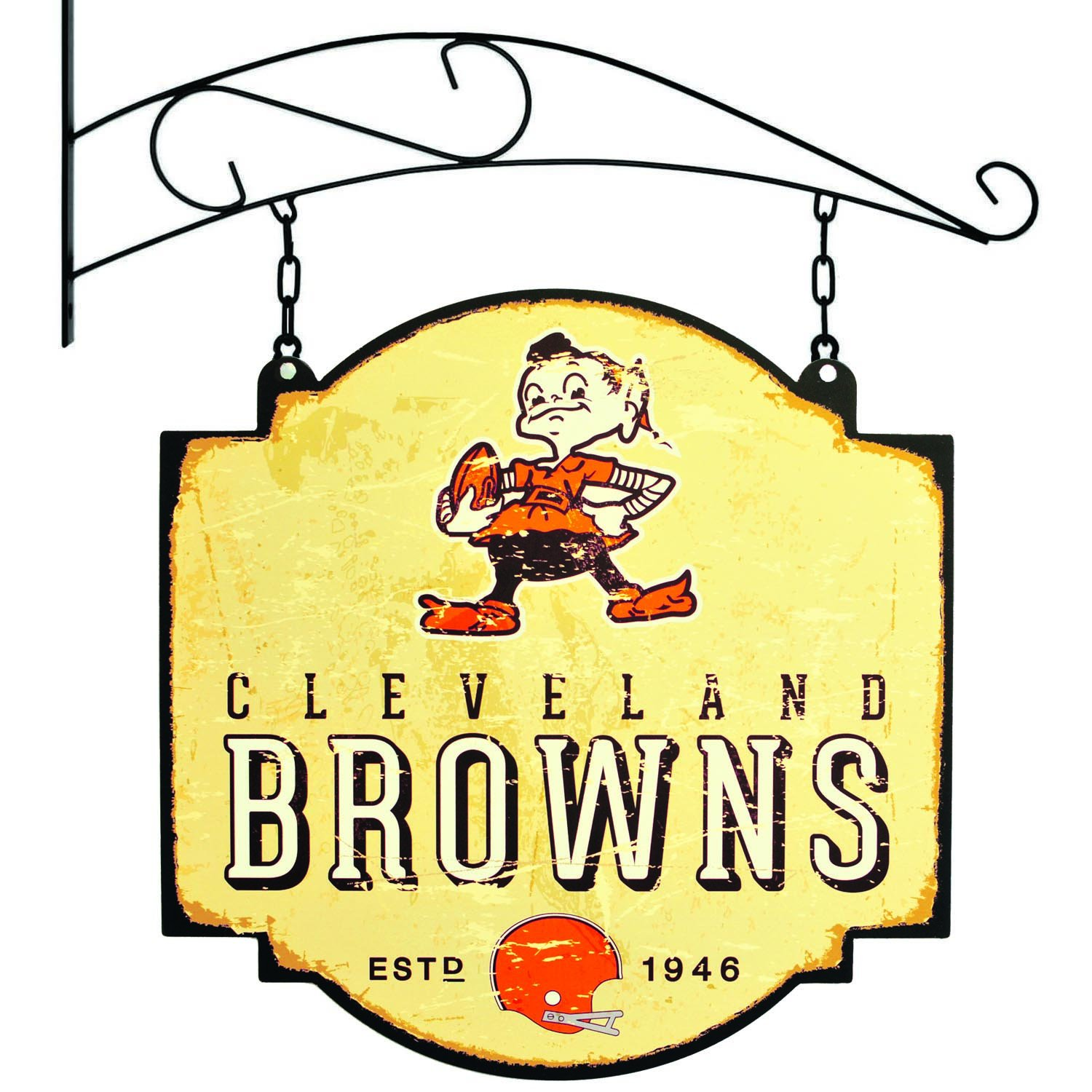 Amazon.com : NFL Cleveland Browns Tavern Sign : Sports & Outdoors