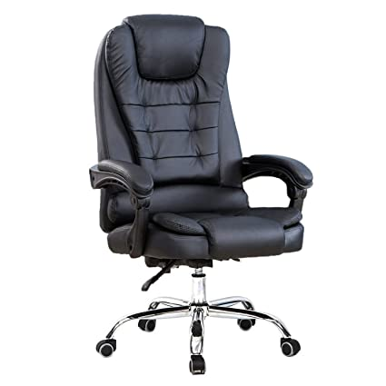 High Back Big and Tall Executive Office Chair Ergonomic Comfortable Heavy Duty Leather Swivel Recliner Task  sc 1 st  Amazon.com & Amazon.com: High Back Big and Tall Executive Office Chair Ergonomic ...