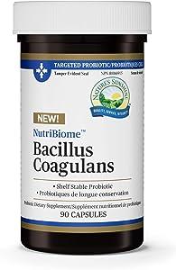 Nature's Sunshine Nutribiome Bacillus Coagulans Probiotics 90 Capsules