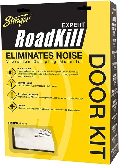Stinger RKXDK roadkill 2 mm de material aislante para puertas (6 ...