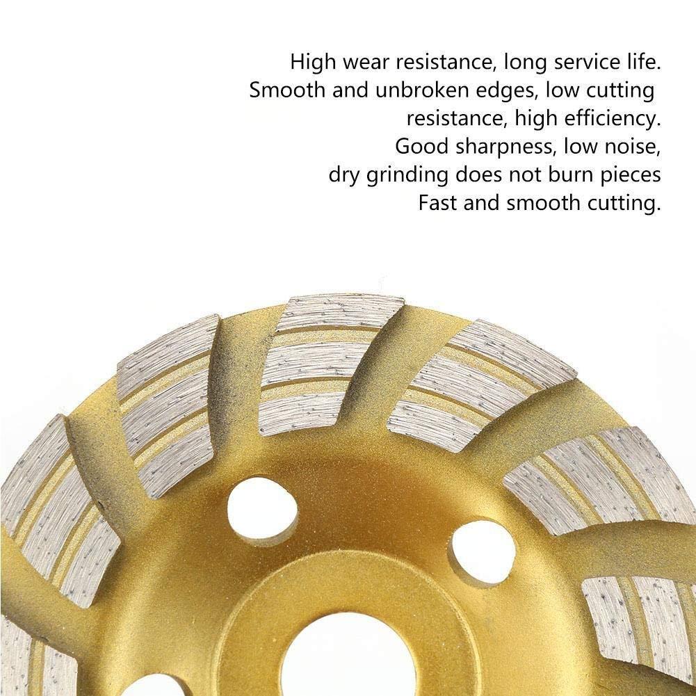 22.2mm segmento de diamante de pulido Copa rueda de disco de corte for el granito de m/ármol Hormig/ón Broco 125