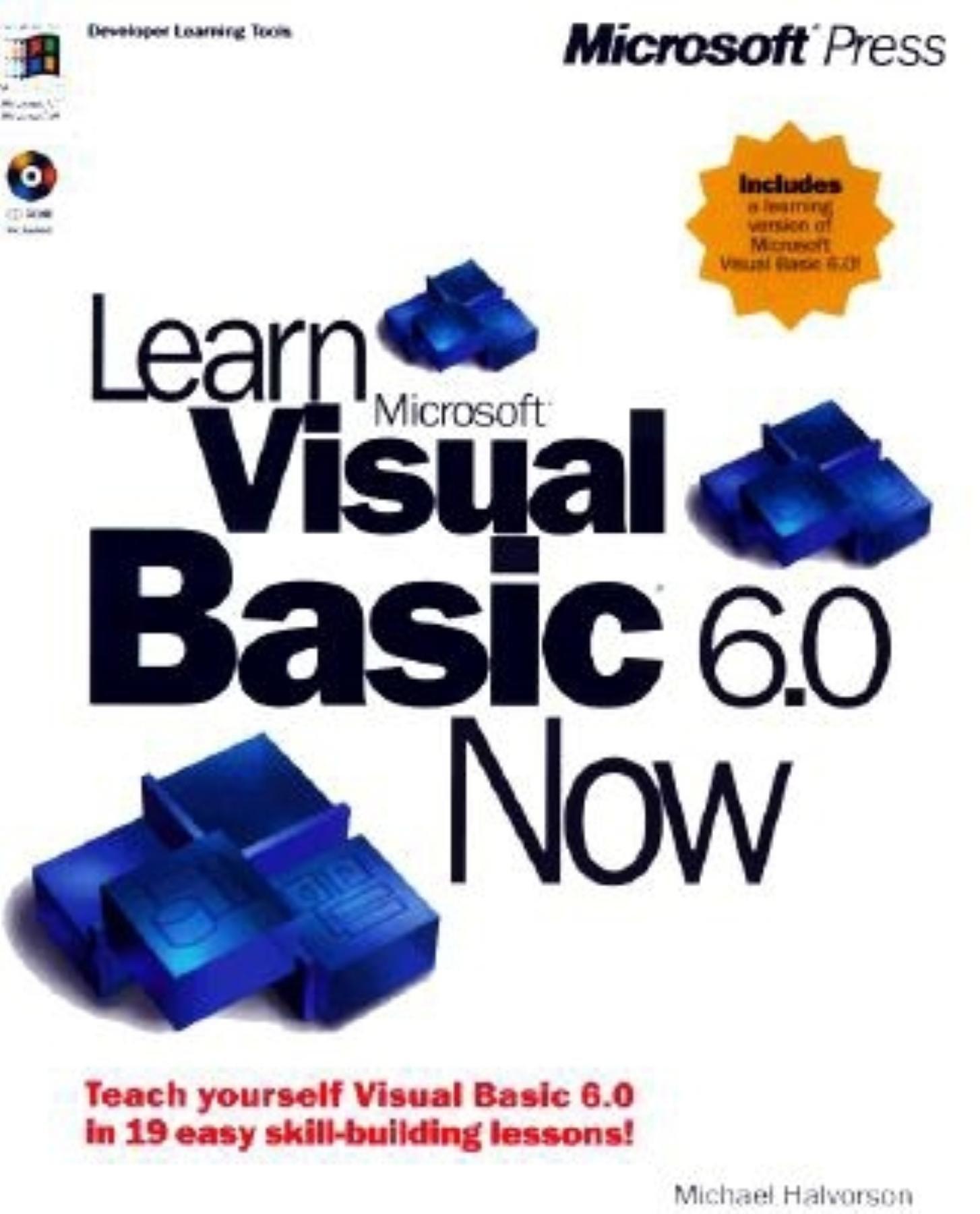 Learn Microsoft Visual Basic 6 0 Now (Learn Now): Michael Halvorson