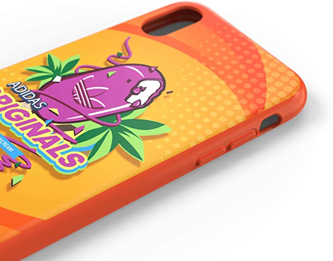 adidas Originals - Carcasa para iPhone X XS, Color Naranja: Amazon.es: Electrónica