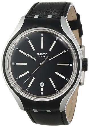 fb7517f7ea58 Amazon.com  Swatch Men s YES4003 Irony Analog Display Swiss Quartz ...