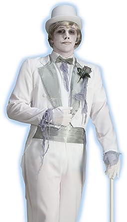 Victorian Ghost Groom Adult Costume - Standard  sc 1 st  Amazon.com & Amazon.com: Victorian Ghost Groom Adult Costume - Standard: Clothing