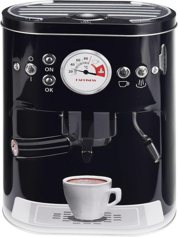 Carousel Home et Giftsel Pot de cuisine machine /à caf/é Pod Capsule Bo/îte de rangement en m/étal Box 22/cm x 17/cm
