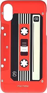 Macmerise IPCIXSPMI0330 Casette Red - Pro Case for iPhone XS - Multicolor (Pack of1)