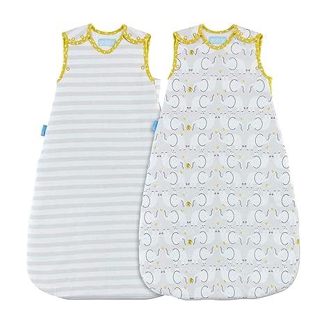 Grobag - Saco de dormir, diseño de elefante Talla:18-36 Months