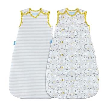 Grobag - Saco de dormir (2,5/1,0 tog, 6 a 18 meses), diseño de elefante: Amazon.es: Bebé