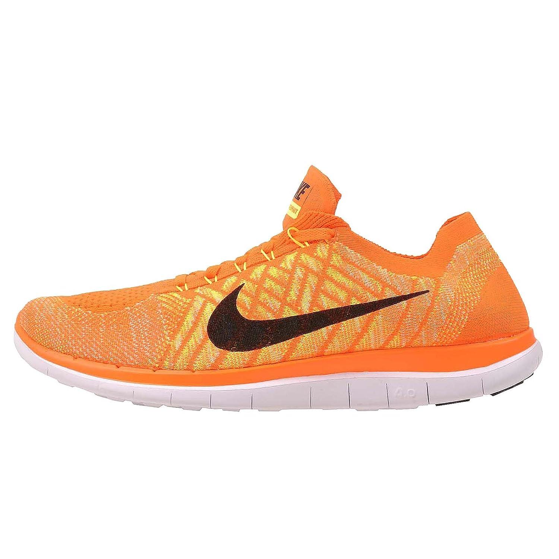 Nike Gratuit Flyknit Flyknit Flyknit Homme Sport Chaussures Total Orange Noir a0530d