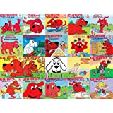 Clifford the Big Red Dog 19 Book Set: Clifford's Good Deed, Visits Hospital, To the Rescue, Thanksgiving Visit, Day with Dad,