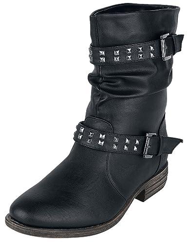 Ladies Biker Boot Boots schwarz Brandit Freies Verschiffen Kauf Verkauf Geniue Händler kDDtKj5fk