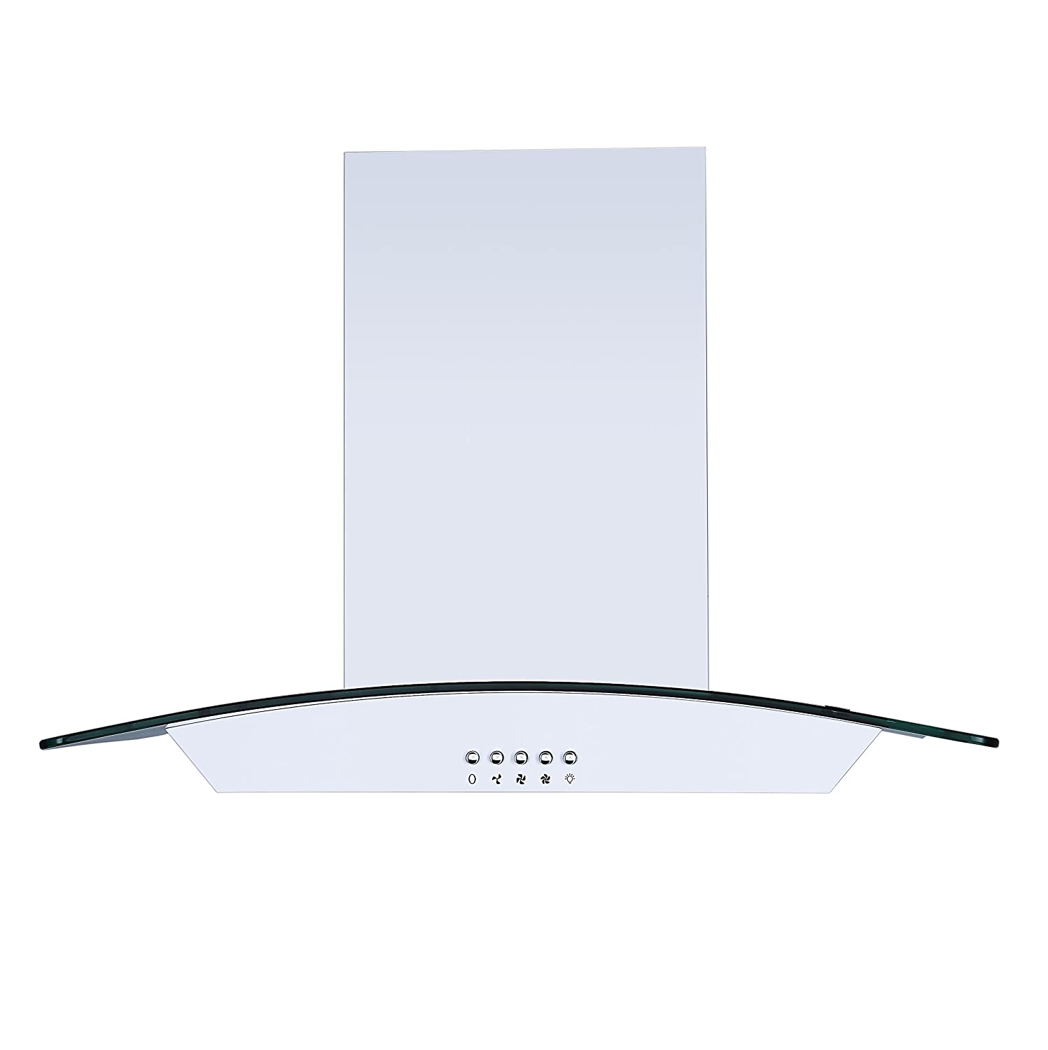 0f4d4098992 ... Cookology CGL600WH Unbranded Extractor Fan in White larger image