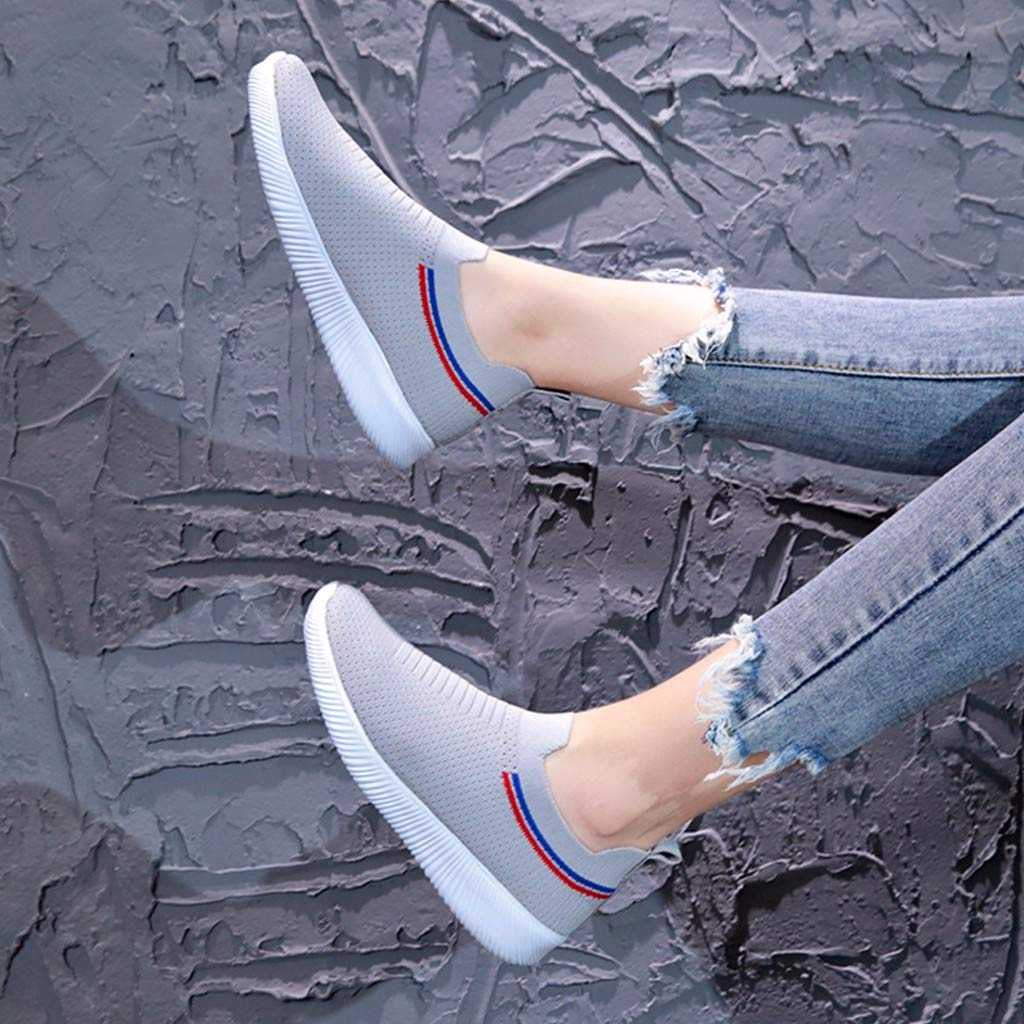 RAINED-Womens Sneakers Lightweight Casual Walking Shoes Gym Breathable Mesh Sports Shoes Casual Fitness Shoes