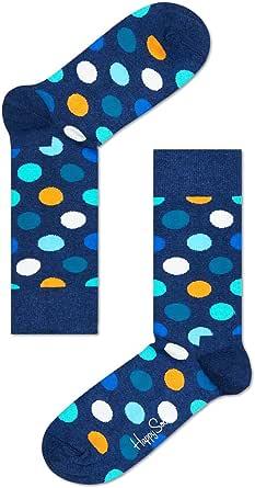 Happy Socks Men's Big Dot Sock, Multicoloured, 36-41