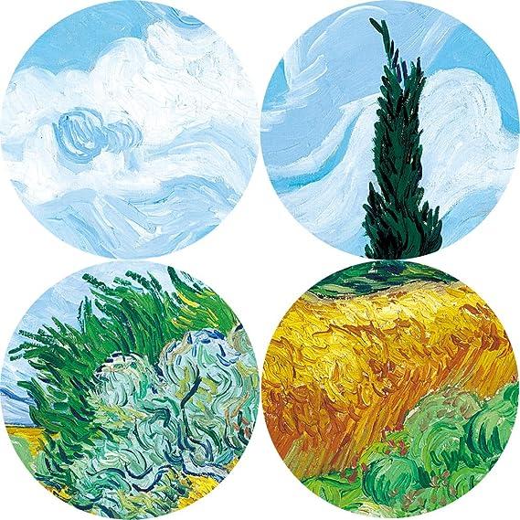 NIMCG Art Van Gogh Iris Flower Reproducción en la Pared ...