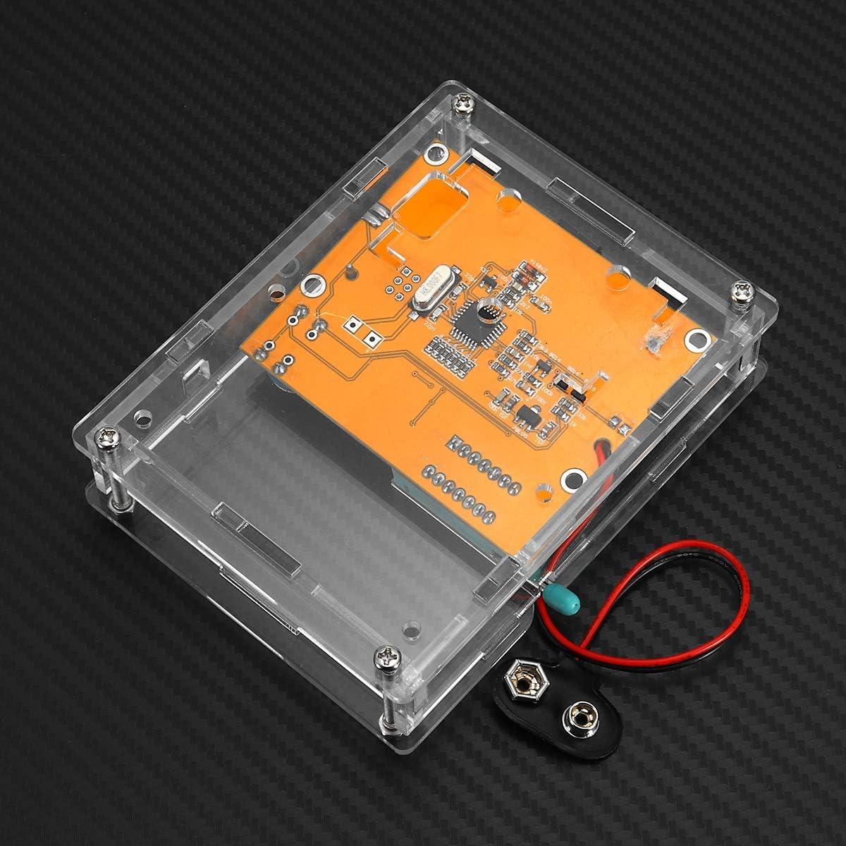 LCR-T3 LCR-T4 Mega328 Transistor Tester Diode Triode Capacitance ESR Meter Assembled Davitu Module Board Power Supply Module