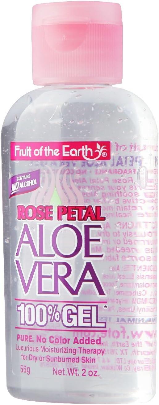 Fruit OF The Earth Rose Petal Aloe Vera Gel 56g