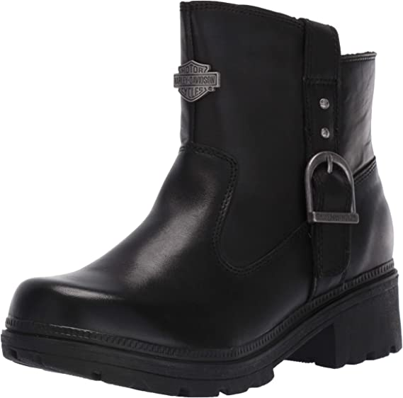 Harley-Davidson Women's Madera 5-Inch Black Casual Ankle Boots D84406