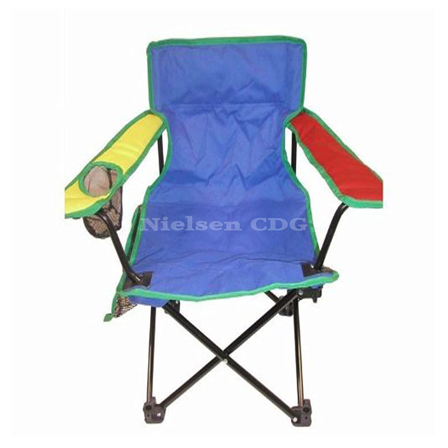 Child s Folding Camping Chair for kids multicoloured Amazon