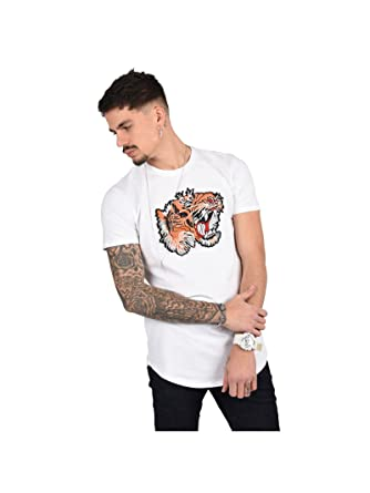 af4741301 Project X Paris Tee Shirt Tigre Homme: Amazon.fr: Vêtements et ...